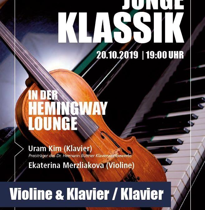 Junge Klassik in der Hemingway Lounge